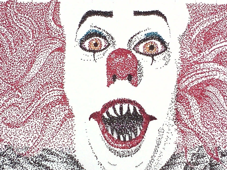 Pennywise the Dancing clown, close up by Caty11