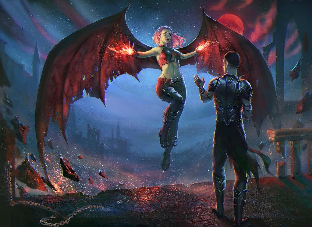 Bloodmoon By Shenrill-dbf1t7y by vendoth