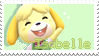 isabelle stamp by bIissey