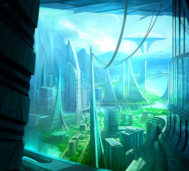 Bold Visions - City Docks by ANTIFAN-REAL