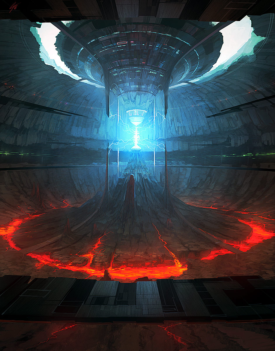 31 stunning futurisitc scifi illustrations