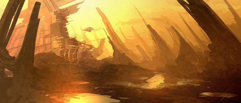 Speedpaint - Wreckage by ANTIFAN-REAL