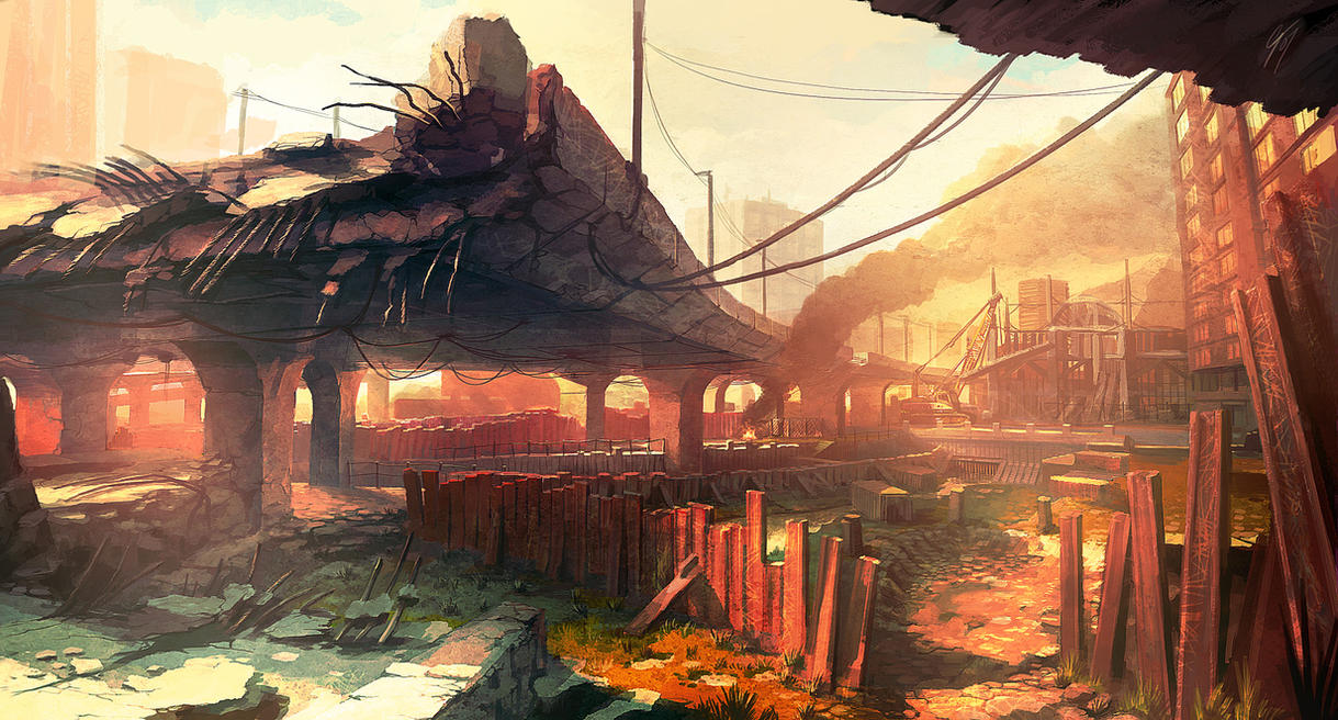 Concept - Damaged Flyover by ANTIFAN-REAL