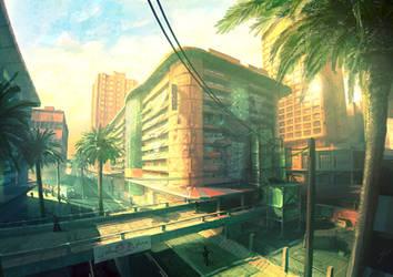 Concept- Wrecked Shopping Mall