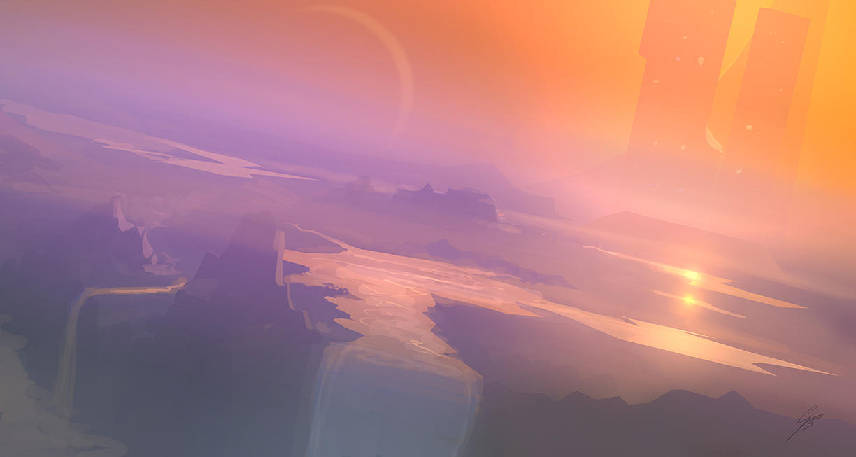 SP - doodle landscape by ANTIFAN-REAL