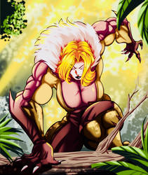 Lioness The Daughter Of Sabretooth: Wild Charge by Joel-Cevallos