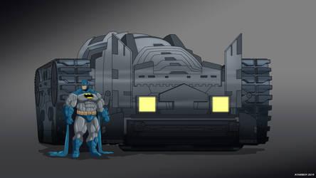 Batman Earth-24: Bat Tank by Joel-Cevallos