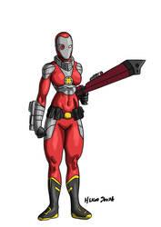 Deadshot (Zoe Lawton): Earth-24 by Joel-Cevallos