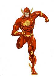 The Flash Earth-24 : Scarlet Speedster by Joel-Cevallos