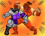 Lady Stone vs Lady Tank: Round Two by Joel-Cevallos