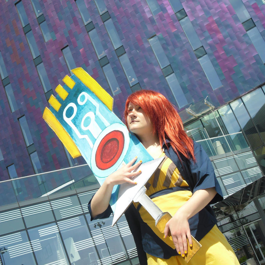 Transistor - Red [MCM Expo May 2013] by kzhitomi on DeviantArt