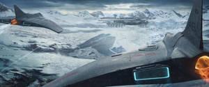 Arctic Base by NiekSchlosser