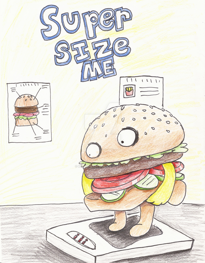 essay supersize me Written paper hawa anthony, ashlee harding, sett naing supersize me documents morgan spurlock's experiment with eating copious amounts of fast food from.