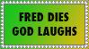 Fred Phelps parody stamp by koimonster22