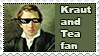Kraut and tea fan stamp by koimonster22