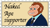 Naked Ape Supporter stamp (request) by koimonster22