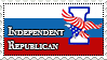Independent Republican stamp (request) by koimonster22