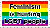 Feminism hurts LGBT by koimonster22