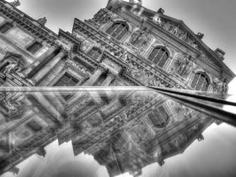Paris - IX - Black and White by EVoLVeR-iNc