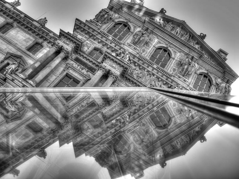Paris - IX - Black and White