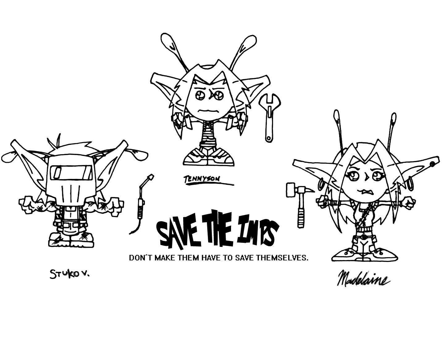Save the Imps by Bosshamster