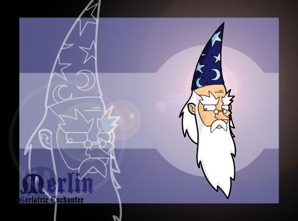 Merlin by Bosshamster