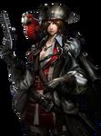 Pirate queen render by Alpine-GFX