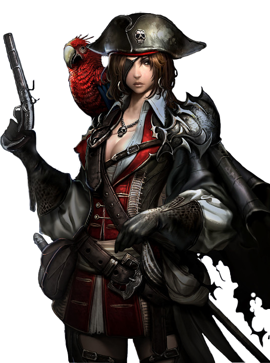 Pirate queen render