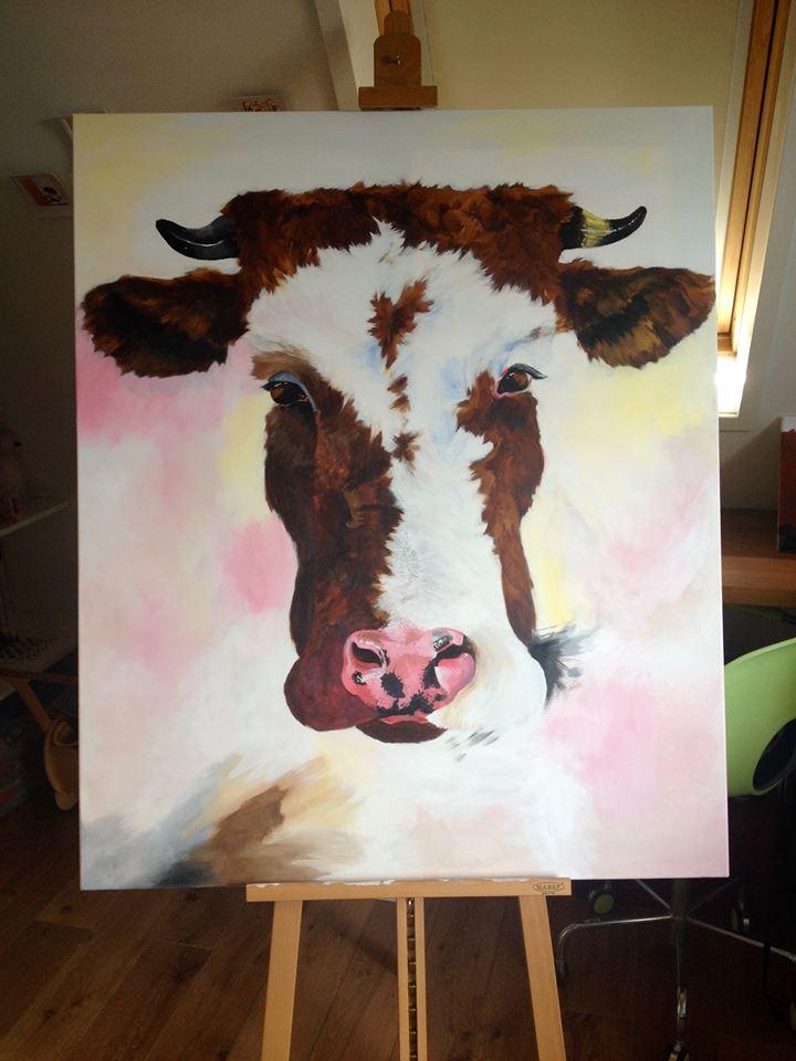 Cow by loenabelle
