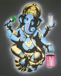 Painting gods