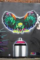 Canbird 2 upfest by fakestencils