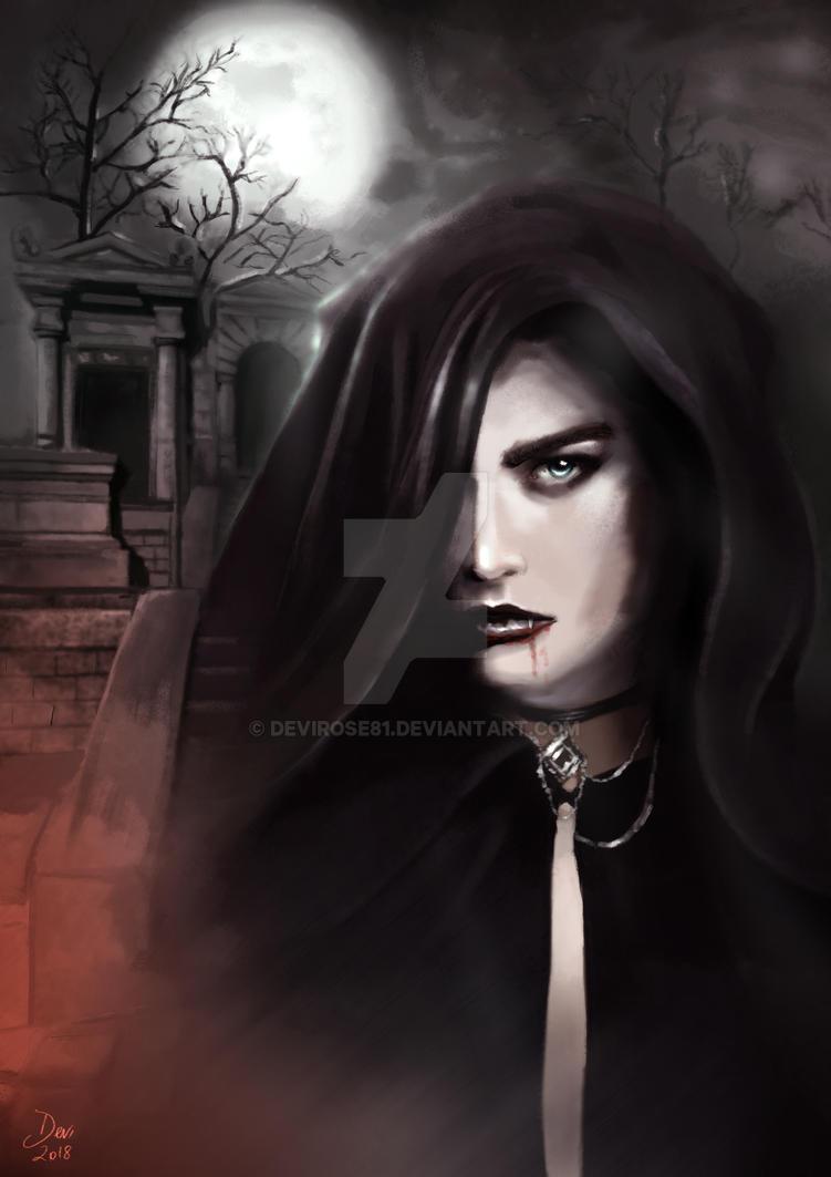 Vampire Lady by Devirose81