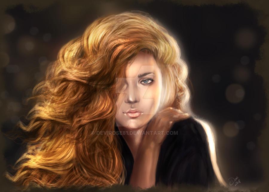 Lady 2 by Devirose81