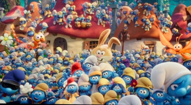 The Smurfs's Photograph by Gumball1999
