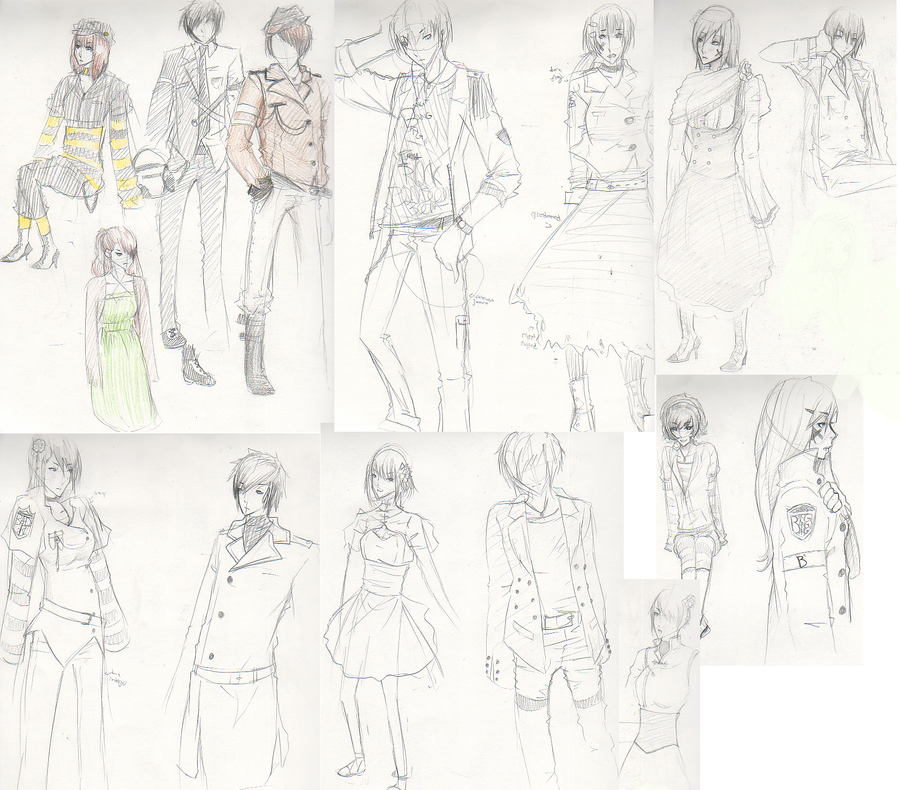 fashion designer fashion design sketches