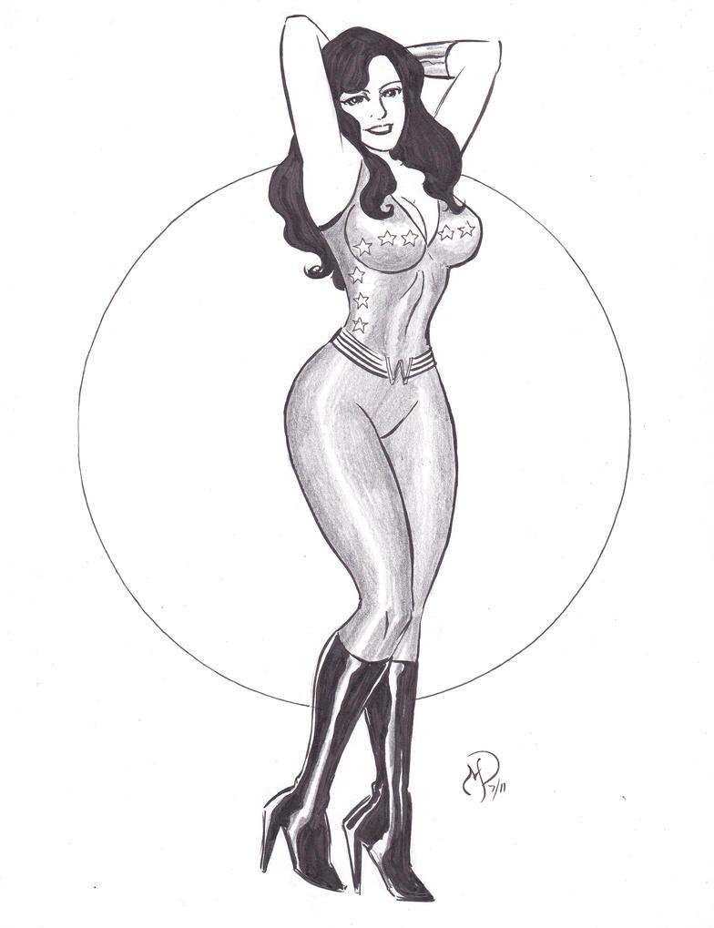 Wonder Girl by MichaelPowellArt