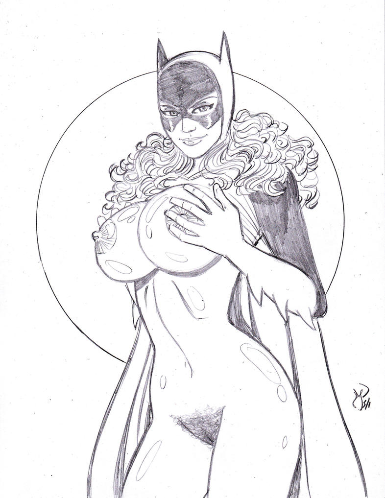 70s Batgirl Nude by *MichaelPowellArt on deviantART