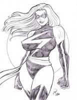 Ms. Marvel by Bondagedean