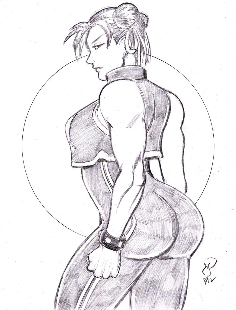 5 for $55 Special: Game Ladies 1 of 5 (Chun Li) by MichaelPowellArt