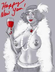 Happy New Year! by Bondagedean