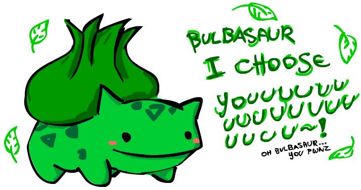 can it b bulbasaur tiem nao? by fucduck
