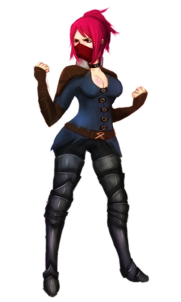 Pink Rogue - Dark Souls II by fucduck
