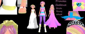 Princess Mi Amore Cadenza MMD Model(s)