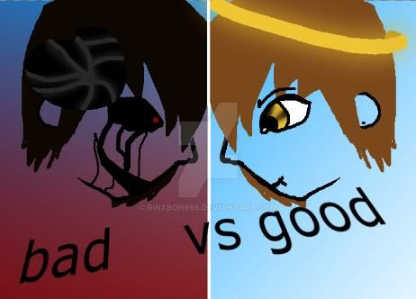 Good Vs Evil by rinxbon666