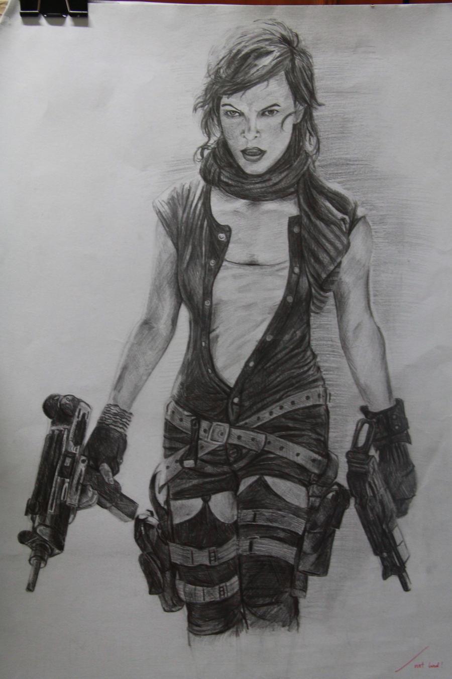 Resident Evil : Milla ... Milla Jovovich Resident Evil 4