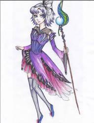 Sorceress 1 by harksum