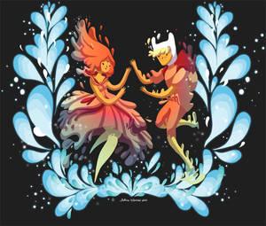 Flame Princess in Love