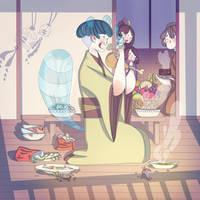 Tanuki Tsuki by SilviaVanni