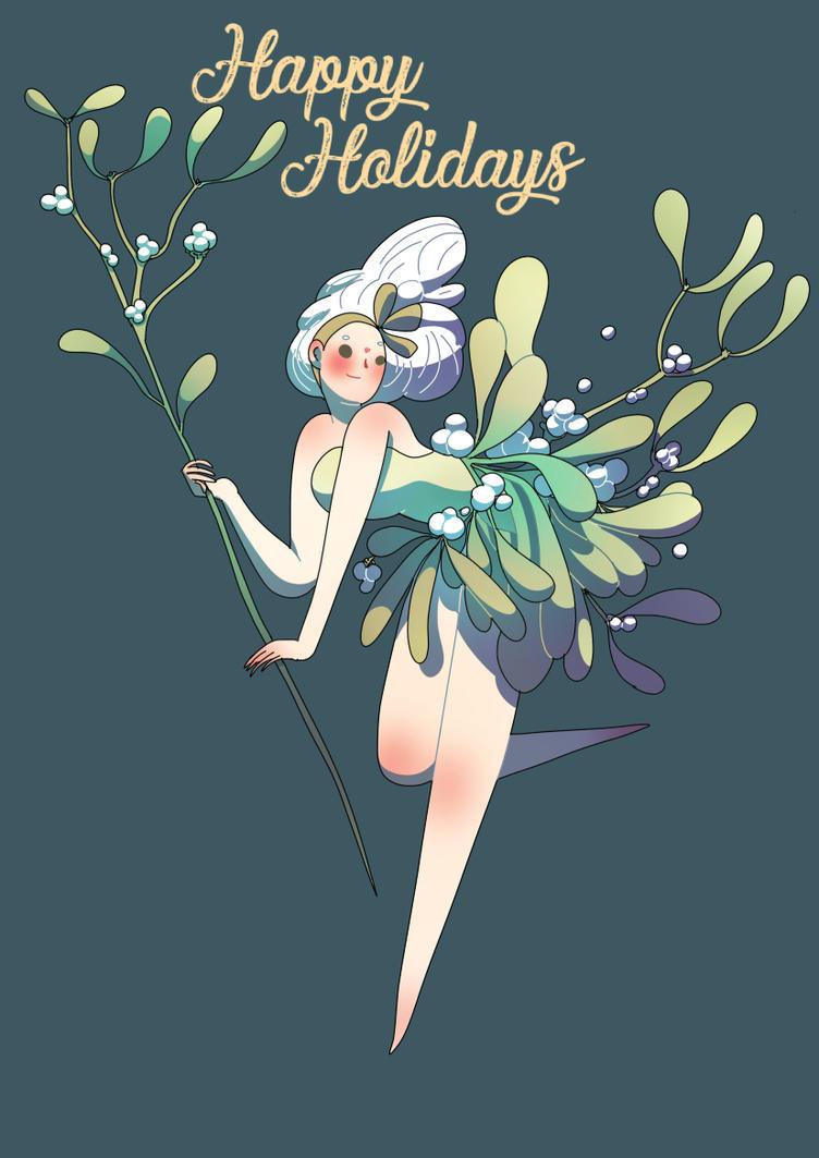 Mistletoe by SilviaVanni