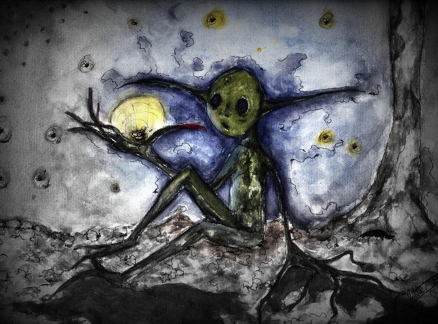 Folletto nella notte by HeilyFly
